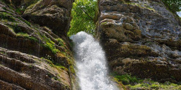 Toller Wasserfall