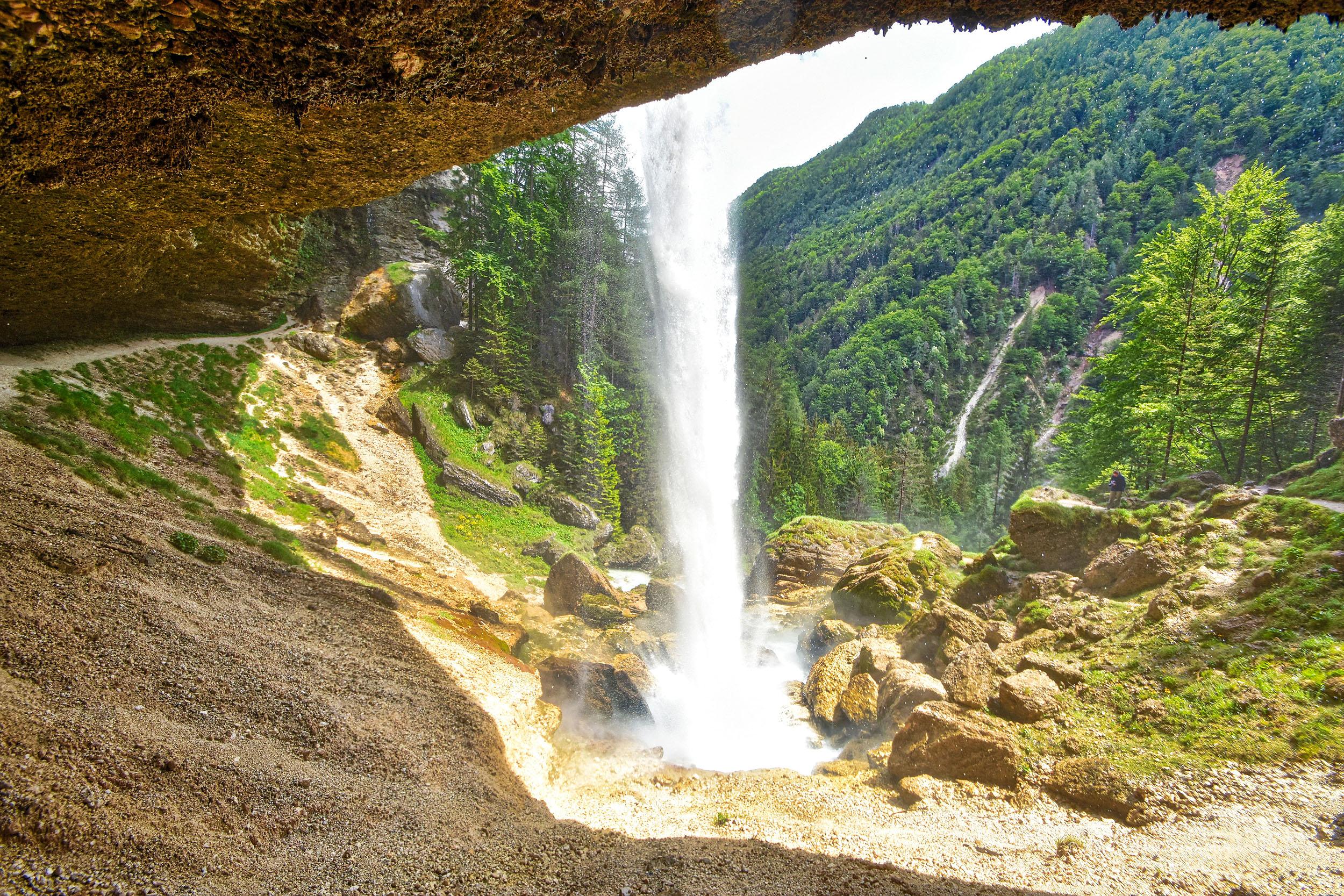 Wasserfall Slap Peričnik