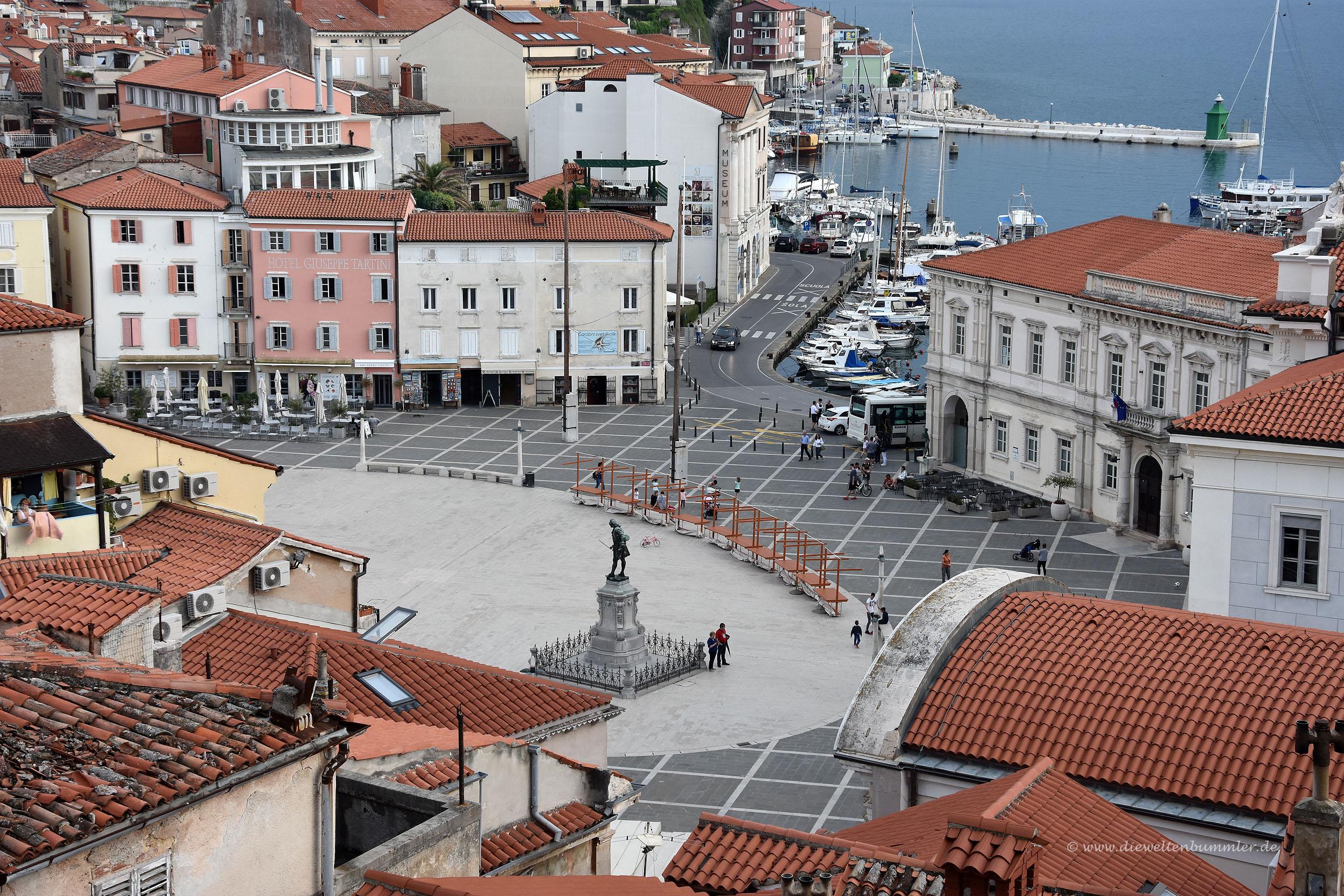 Hauptplatz in Piran