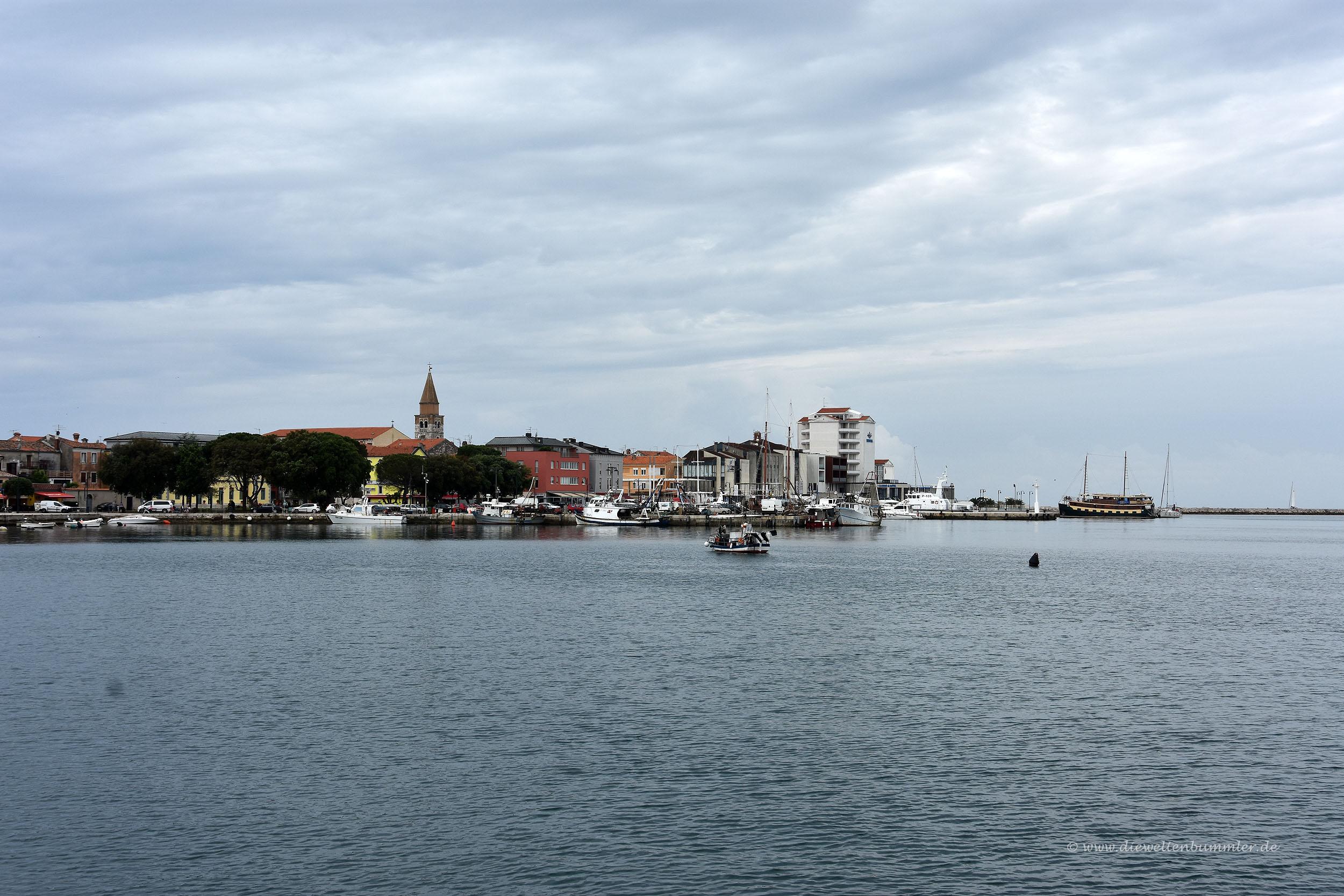 Kurzbesuch in Umag in Kroatien