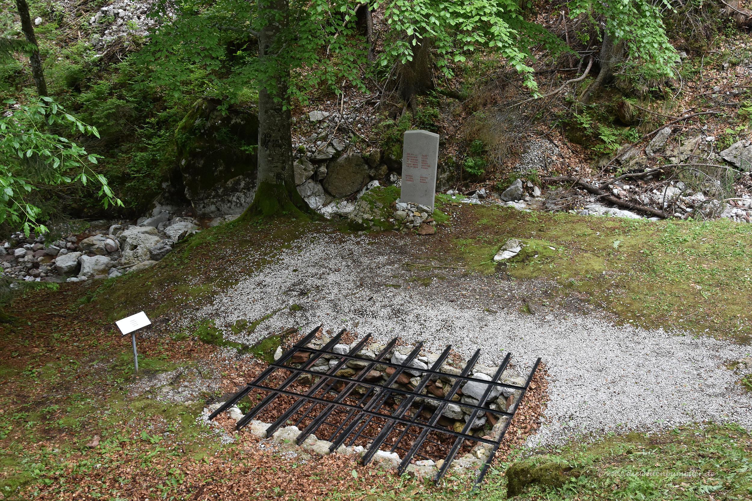 Ehemaliges Krematorium in der Gedenkstätte