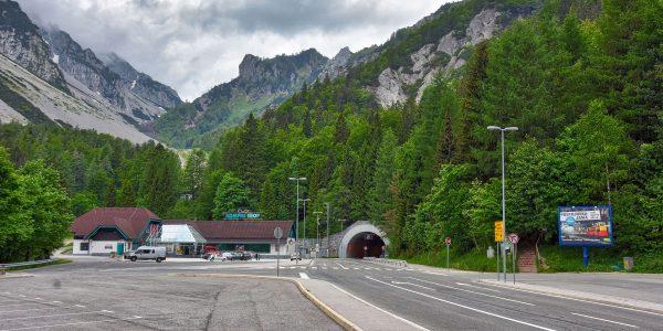 Durchfahrt nach Österreich
