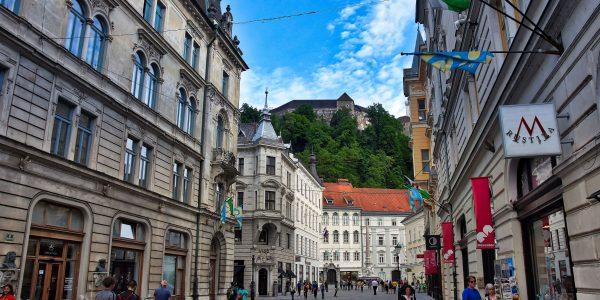 Über der Altstadt thront die Burg