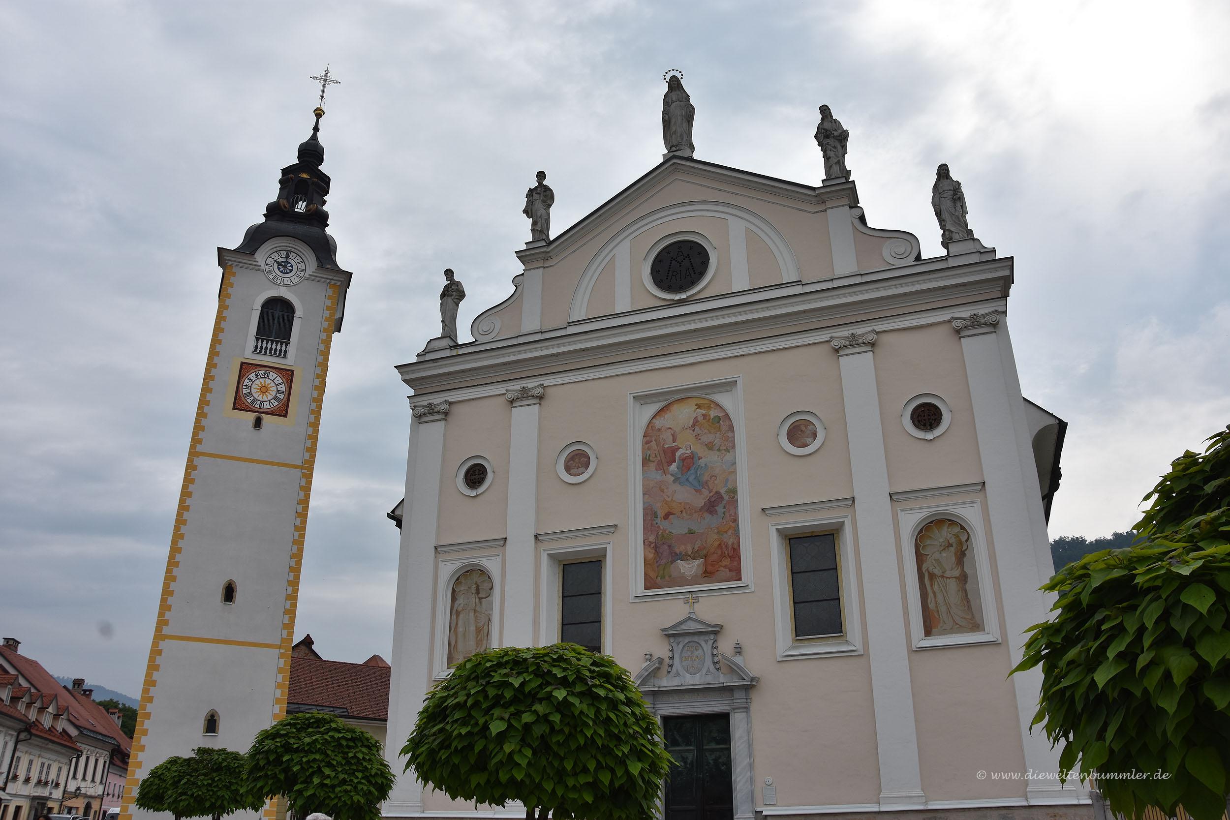 Kirche in Kamnik
