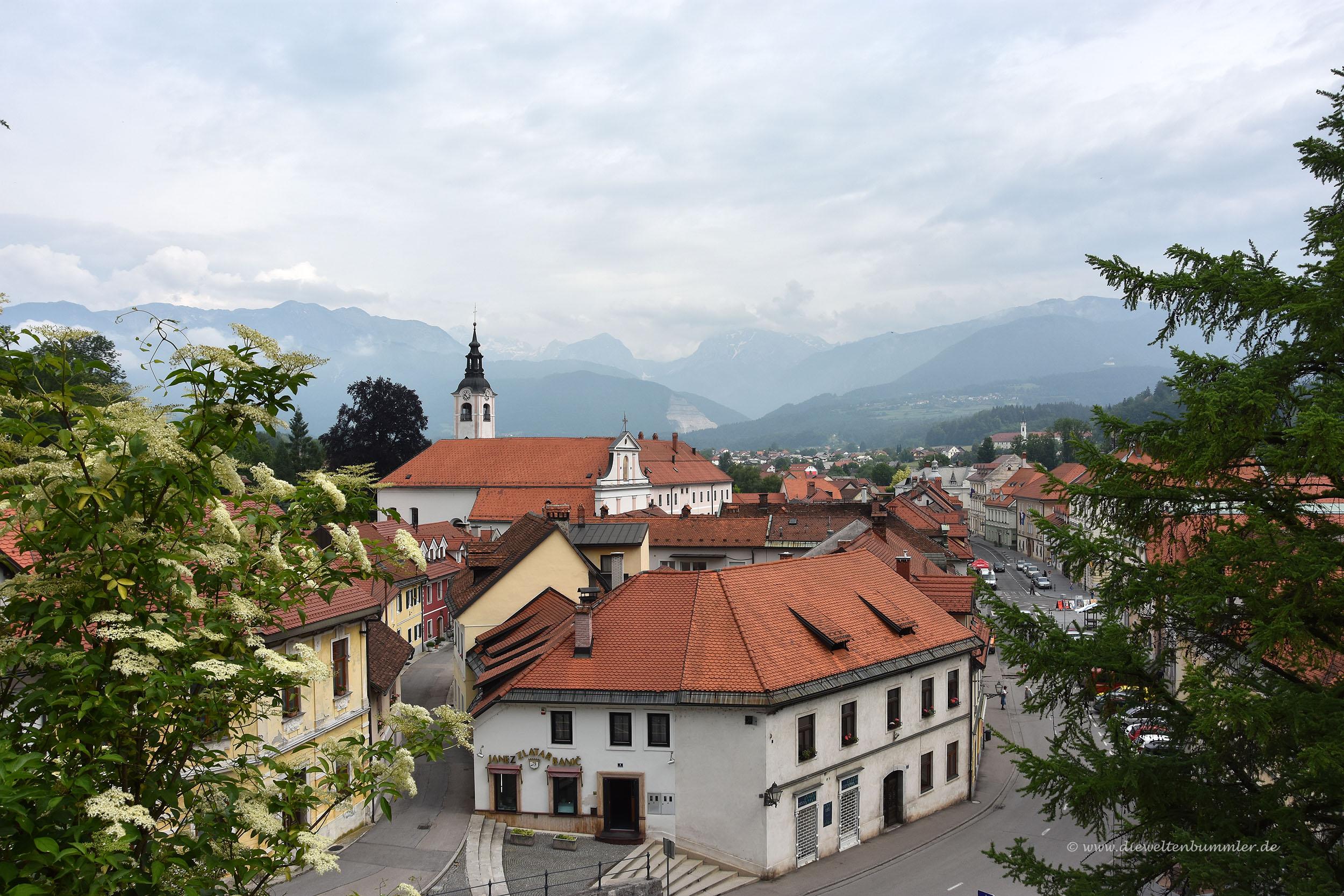 Blick über Kamnik