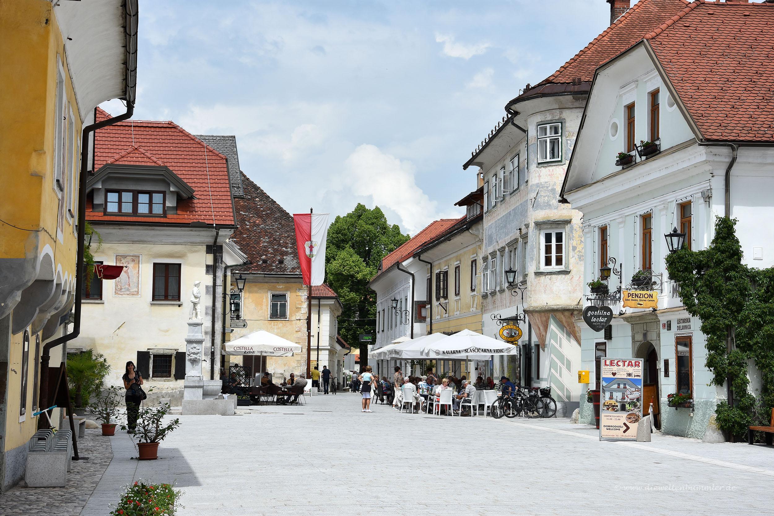 Radovljica in Slowenien