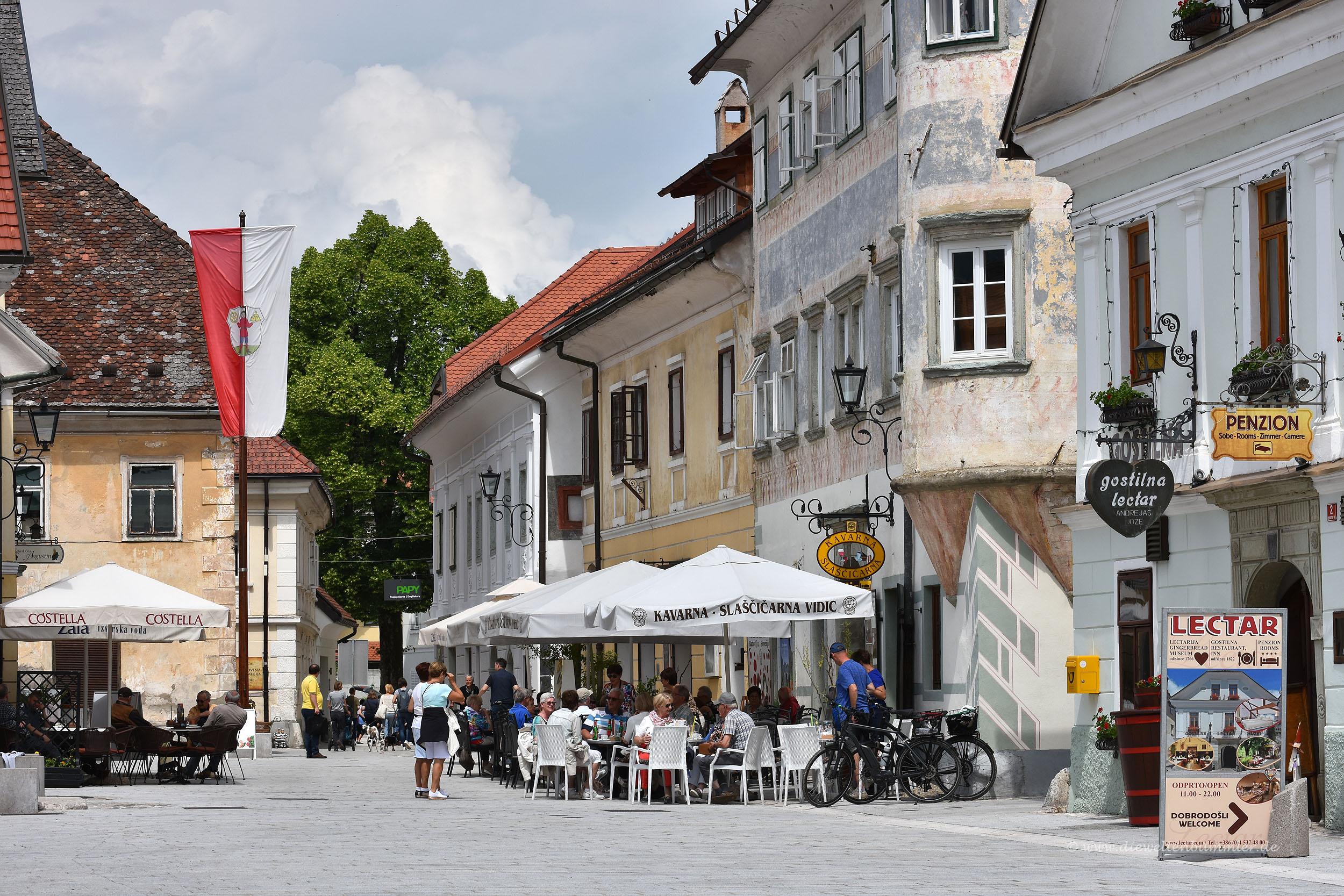 Altstadt in Radovljica