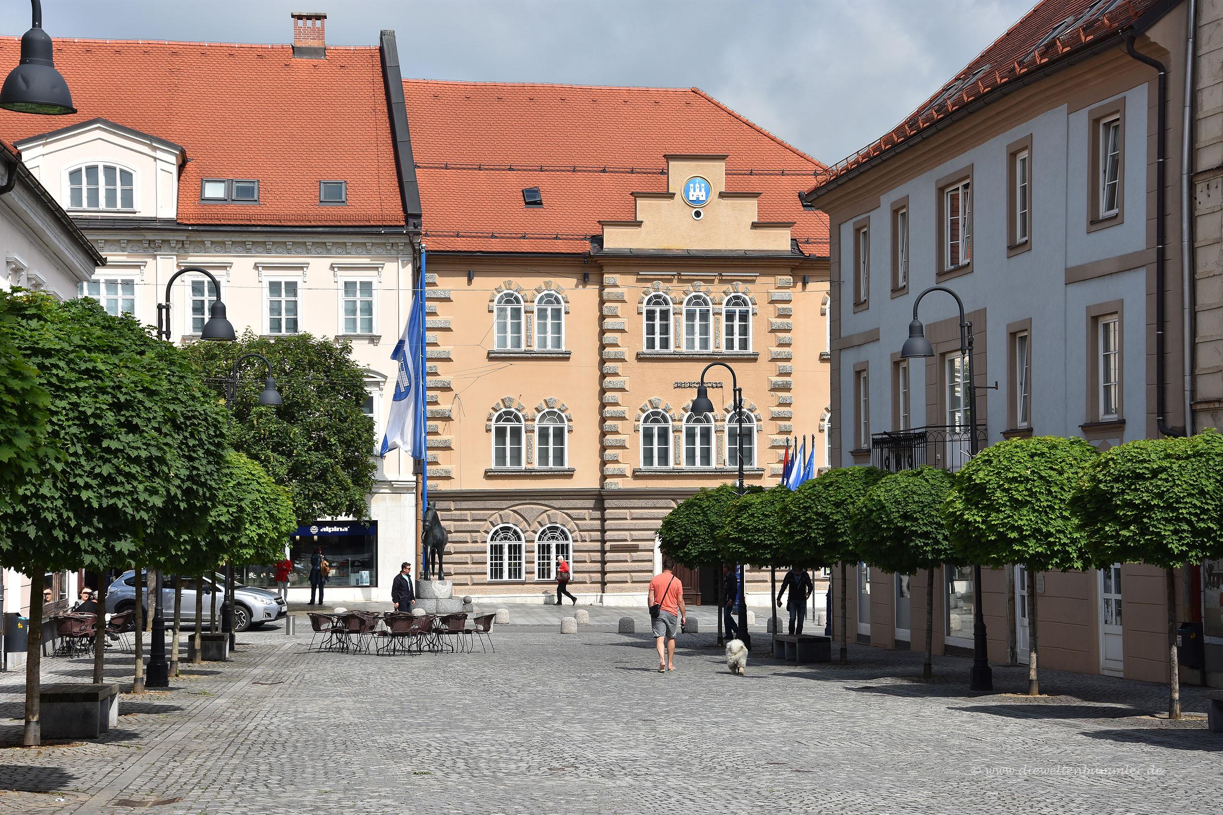 Platz in Slovenj Gradec