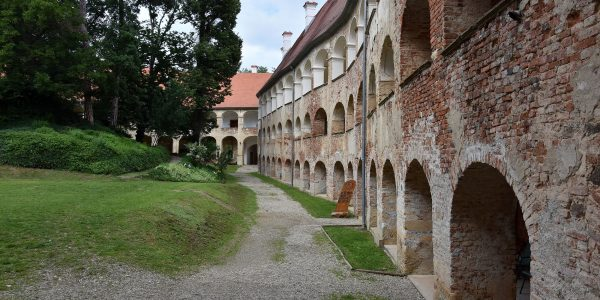 Altes Barockschloss in Slowenien