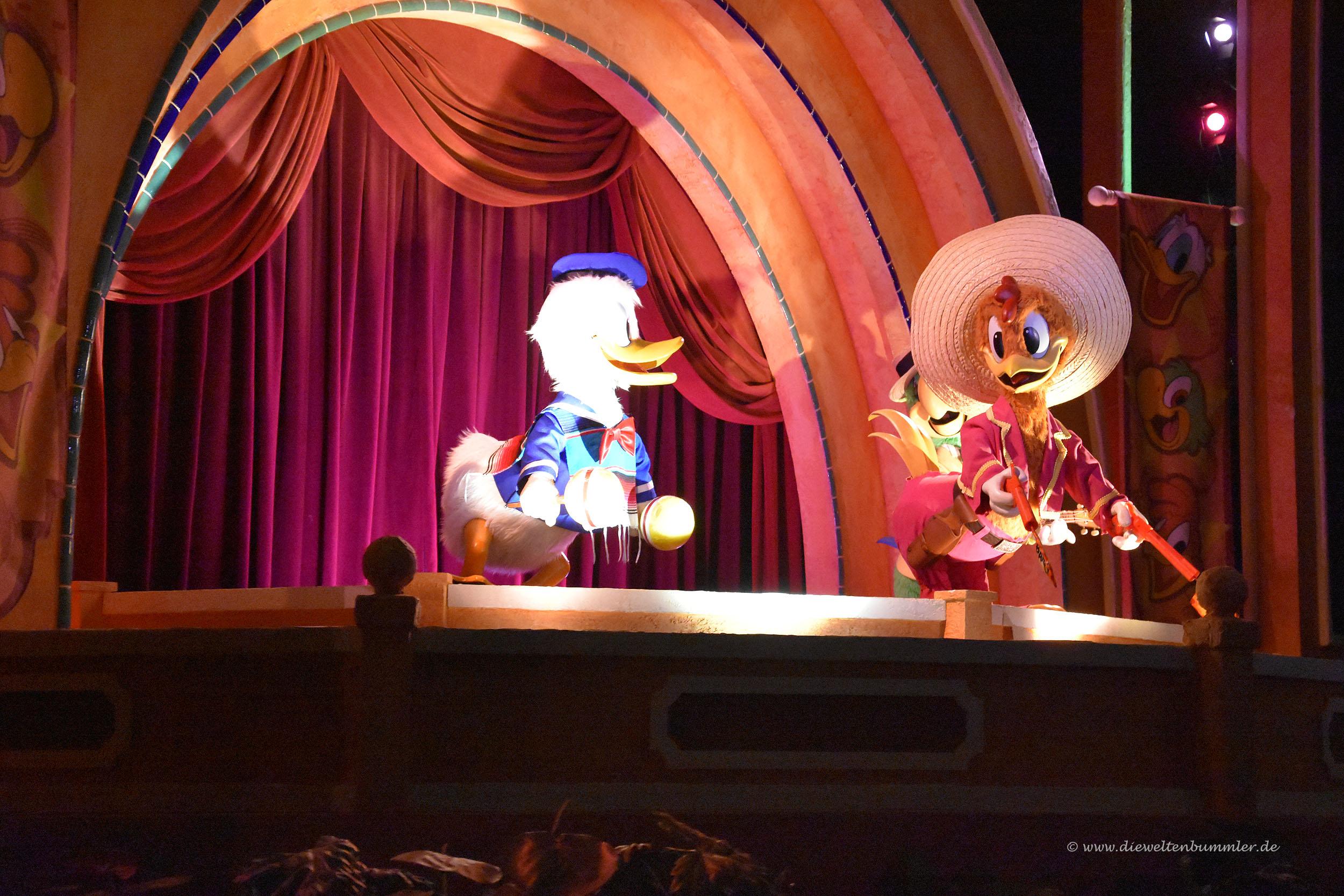 Auf Bootstour zu Donald