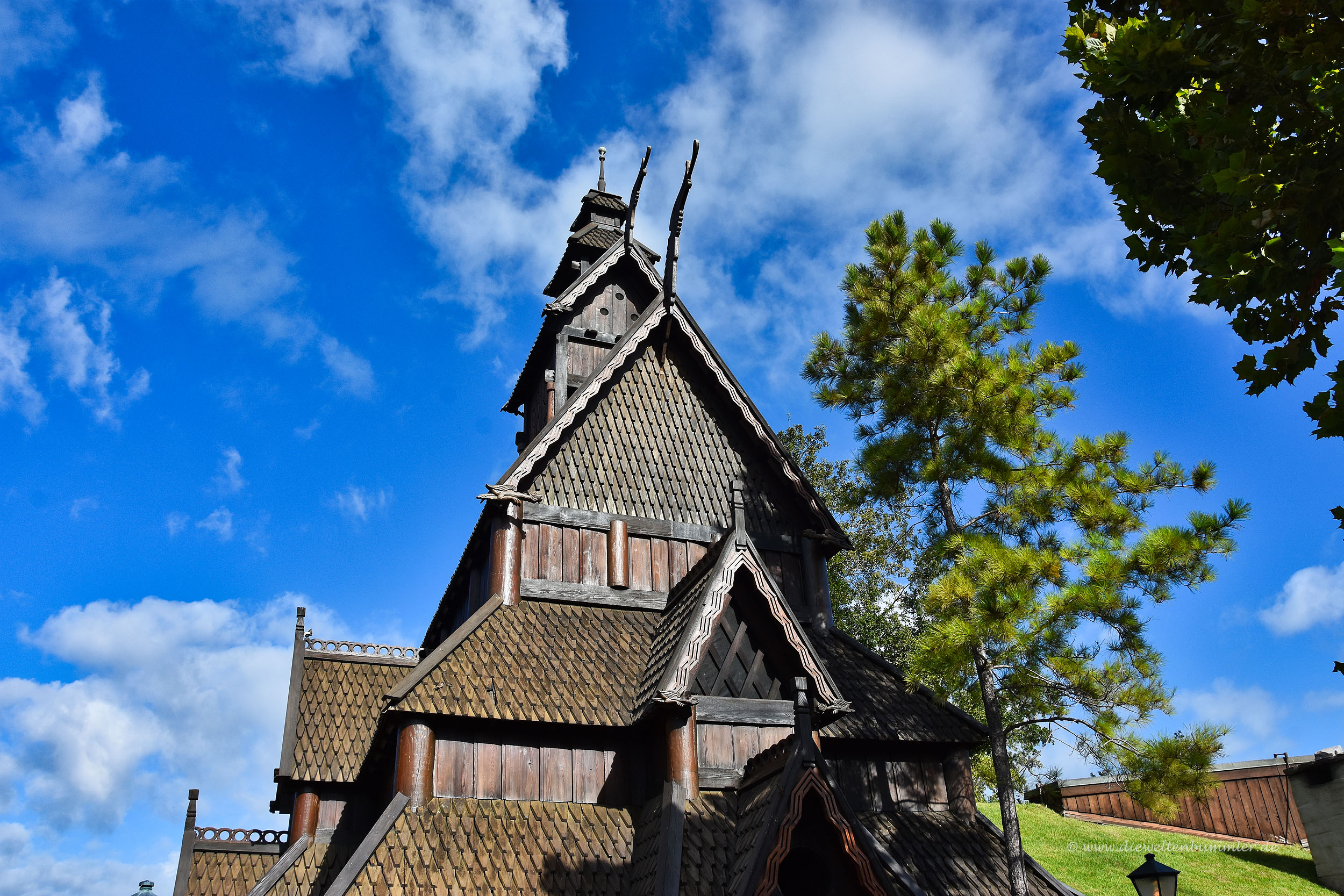 Norwegische Stabkirche in Florida