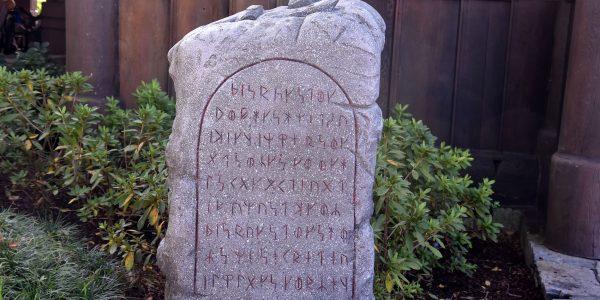 Runenstein in Disneyworld