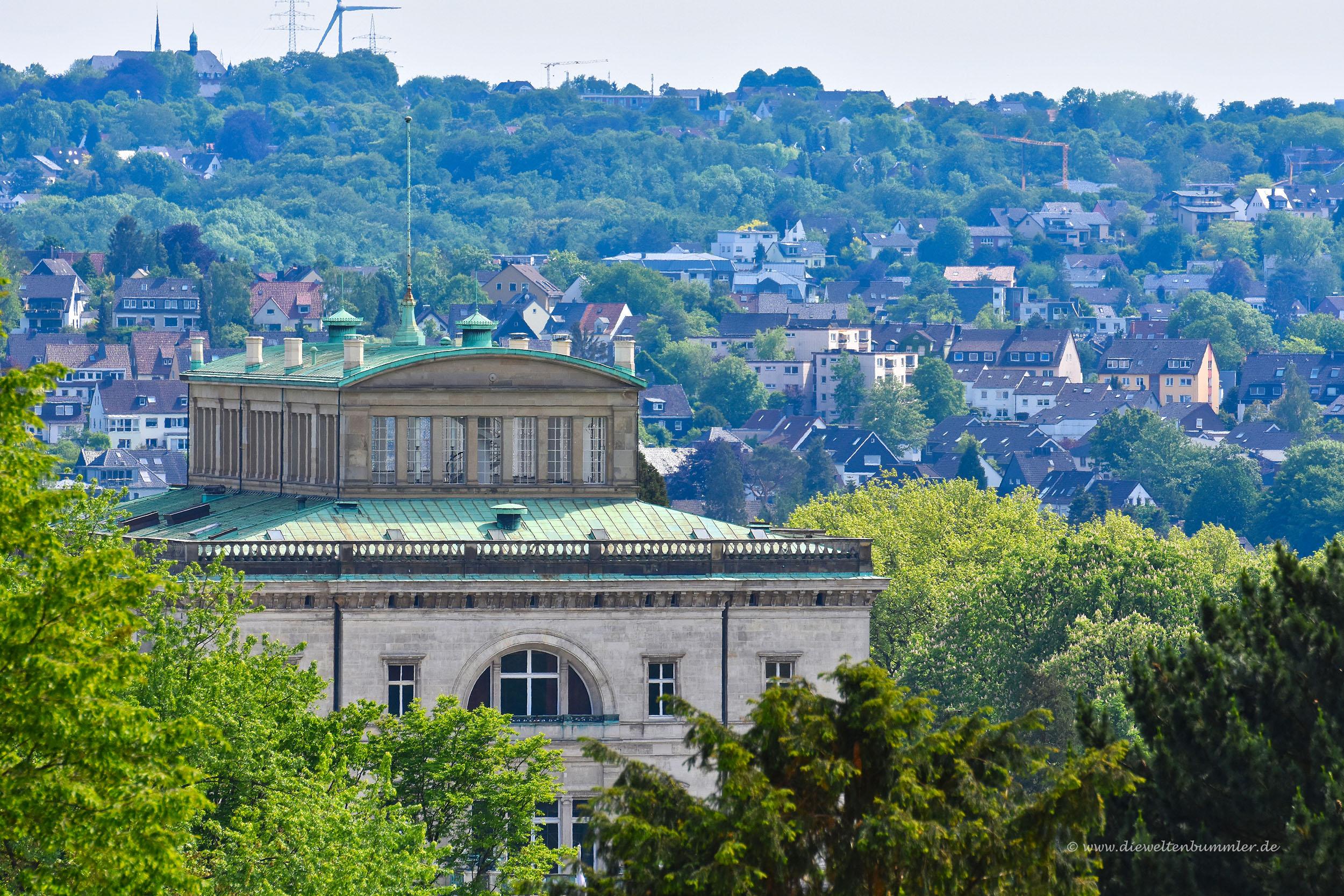Villa Hügel vor Essen-Werden