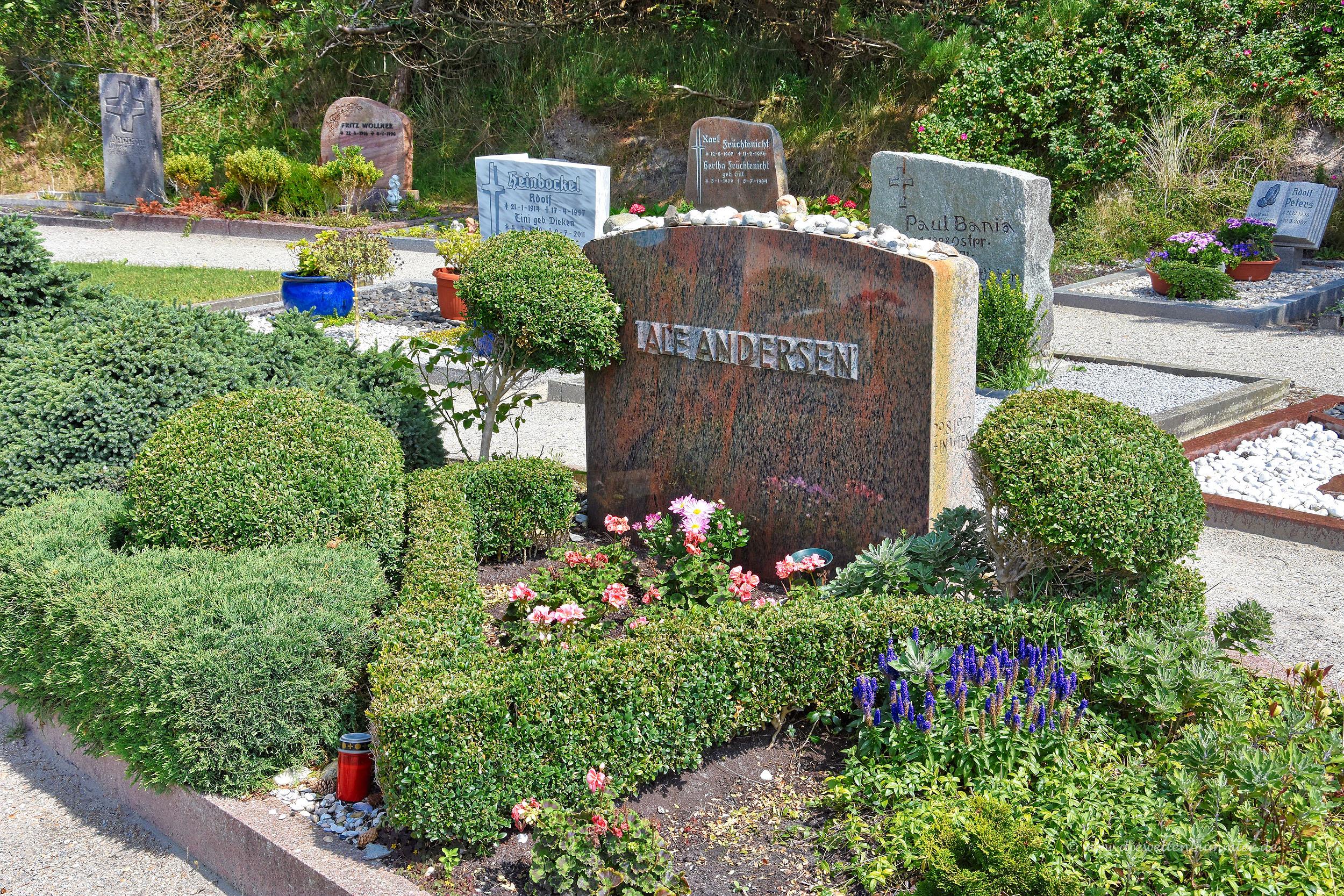 Das Grab von Lale Andersen