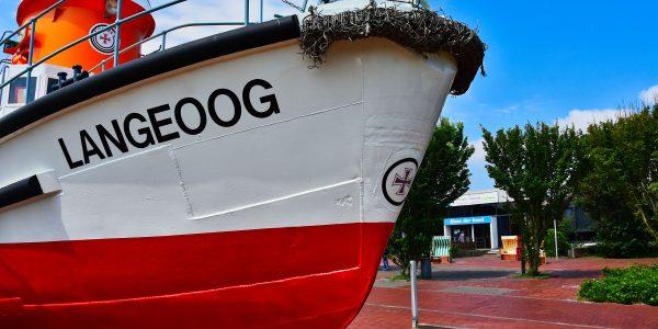 Das Schiff trägt den Namen der Insel