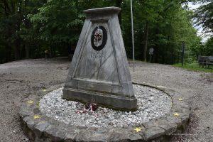 Der westlichste Punkt von Ungarn