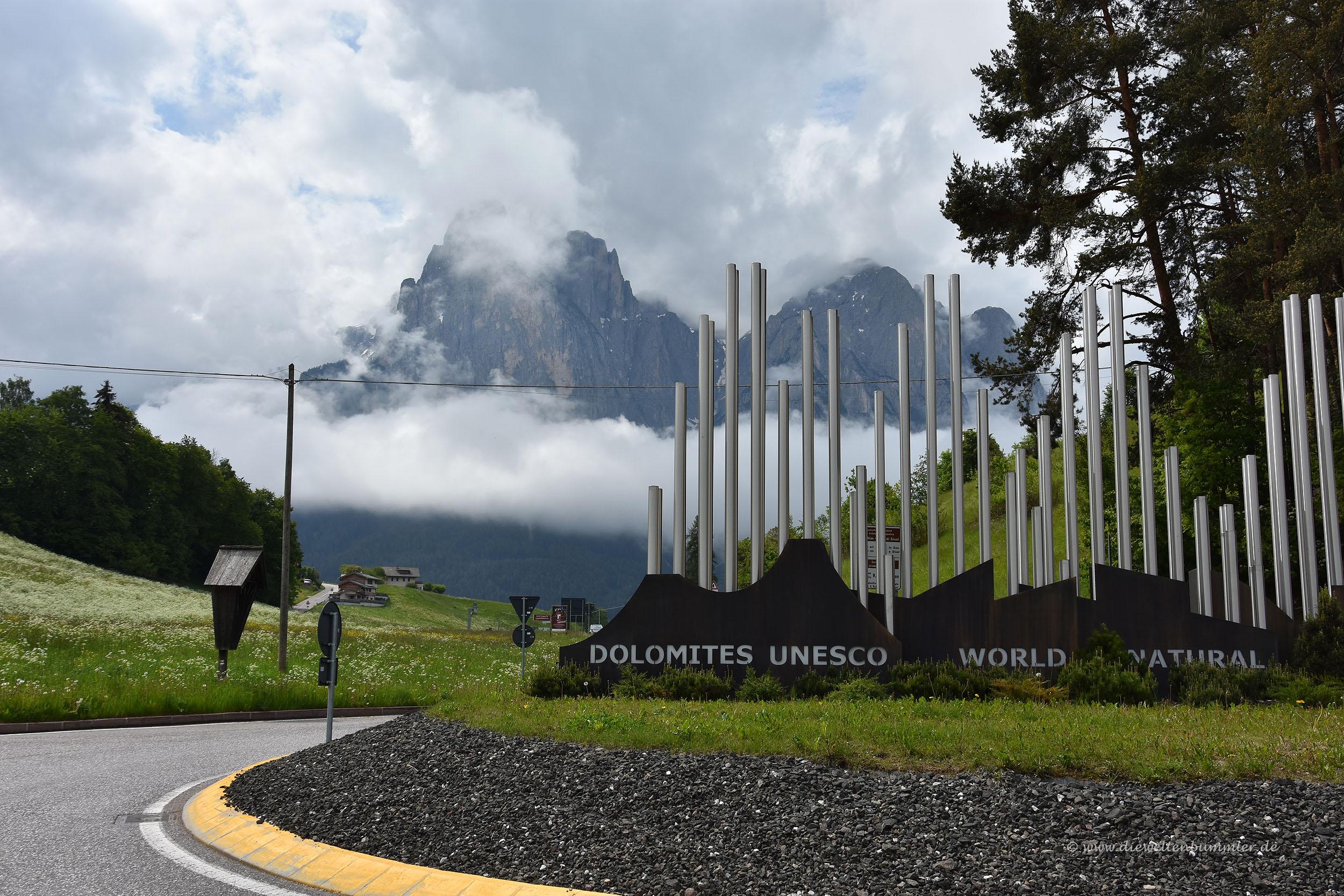 Die Dolomiten in Norditalien