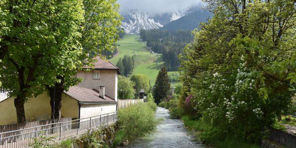 Fluss im Grödnertal