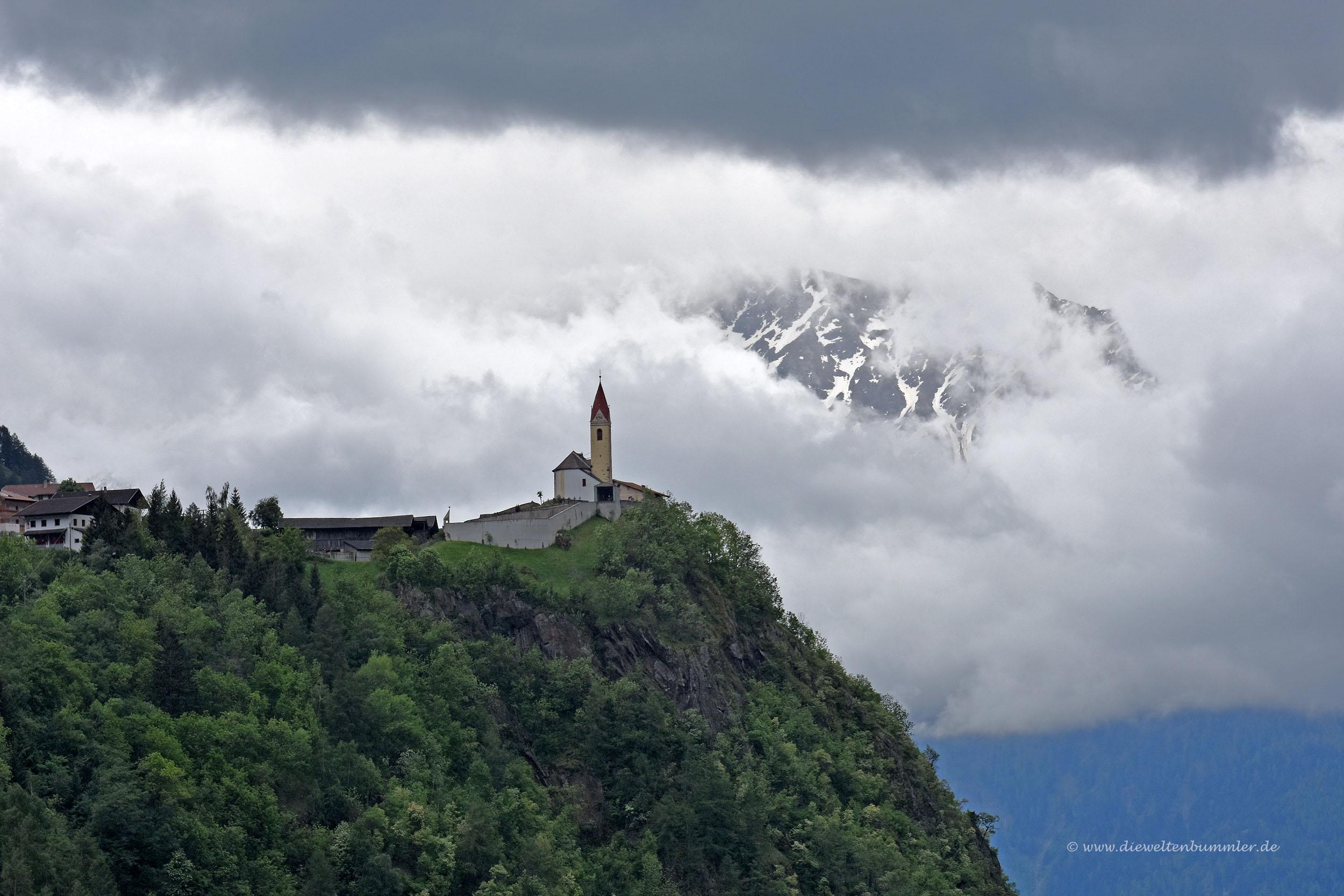 Kirche bei Katharinaberg im Schnalstal
