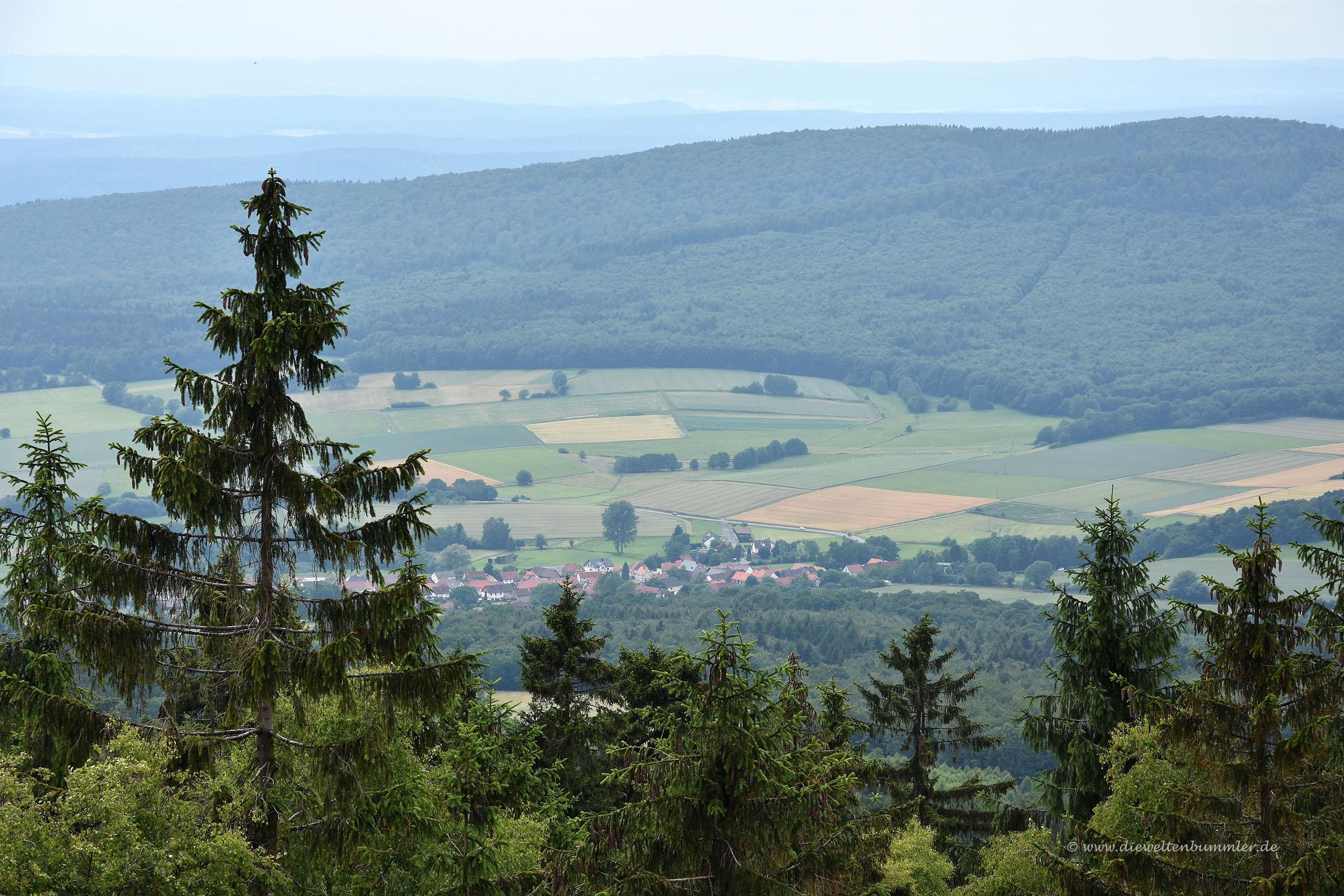 Umgebung am Kellerwaldturm