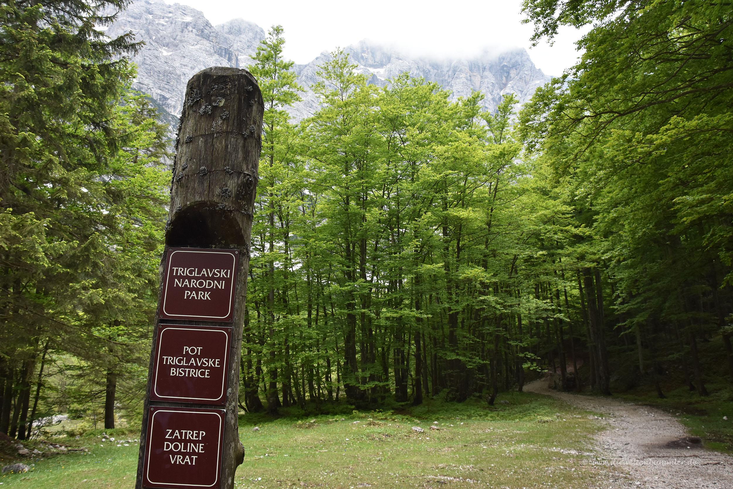 Unterwegs im Triglav-Nationalpark