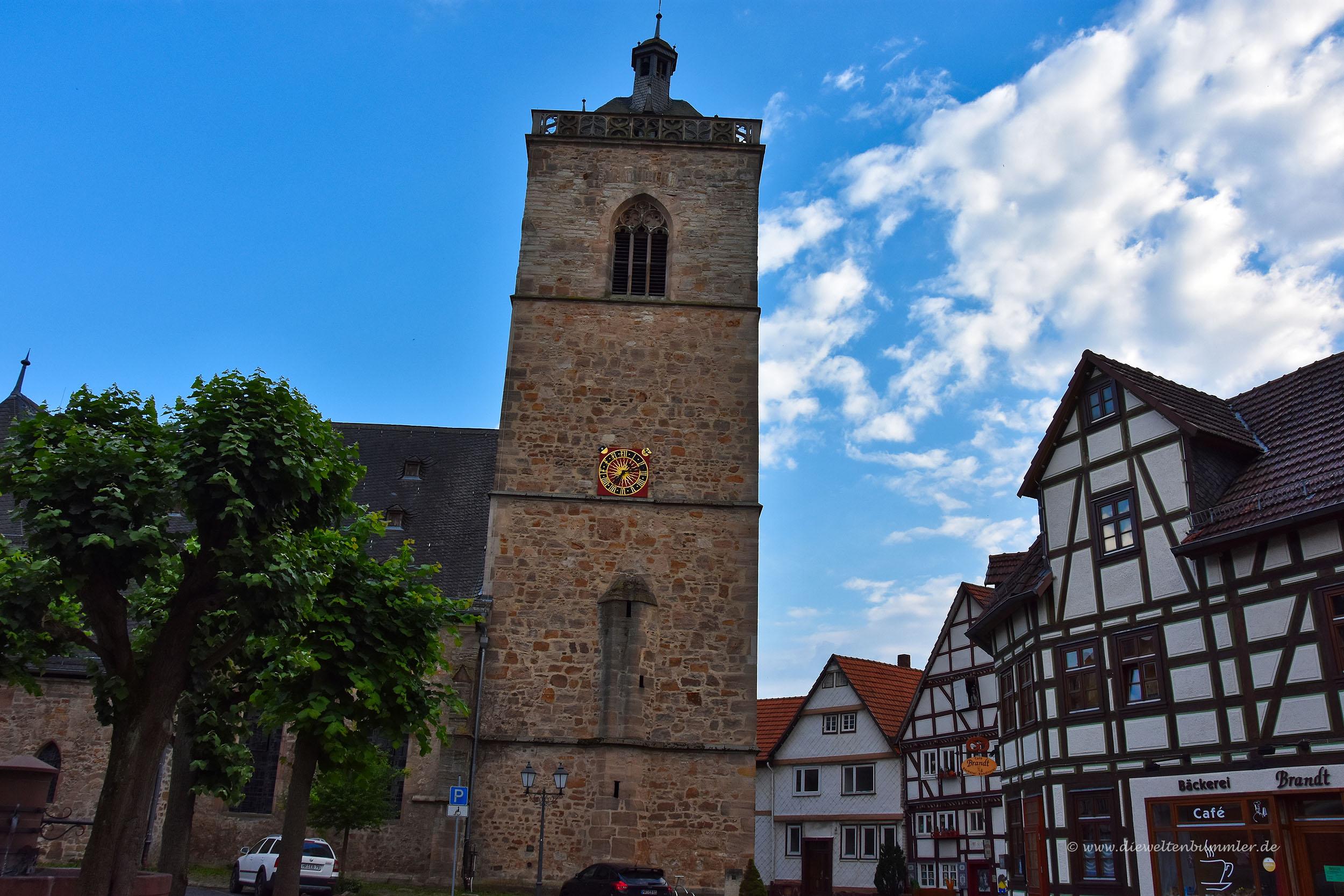 Zentrum von Neukirchen