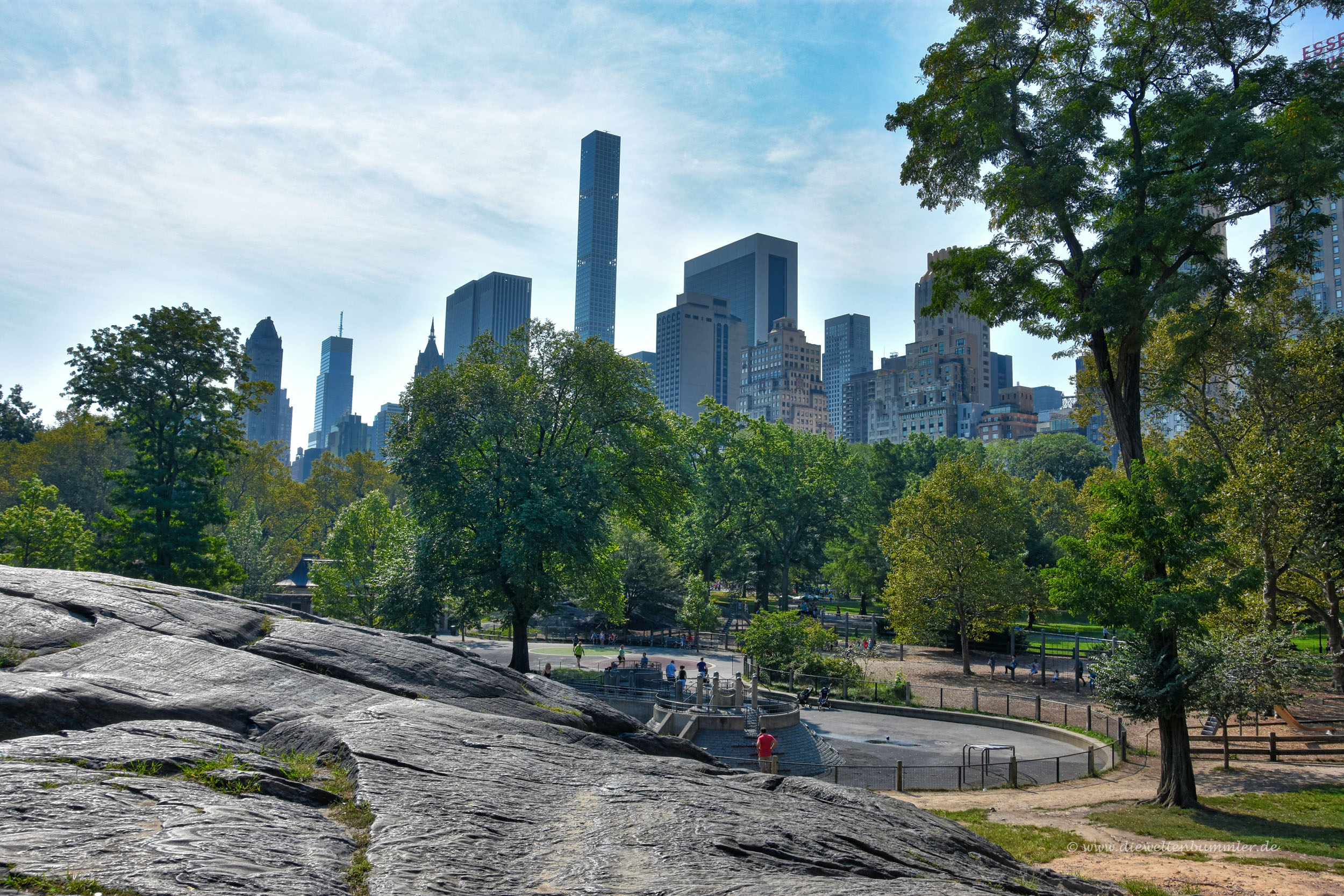 Central Park am Columbus Circle