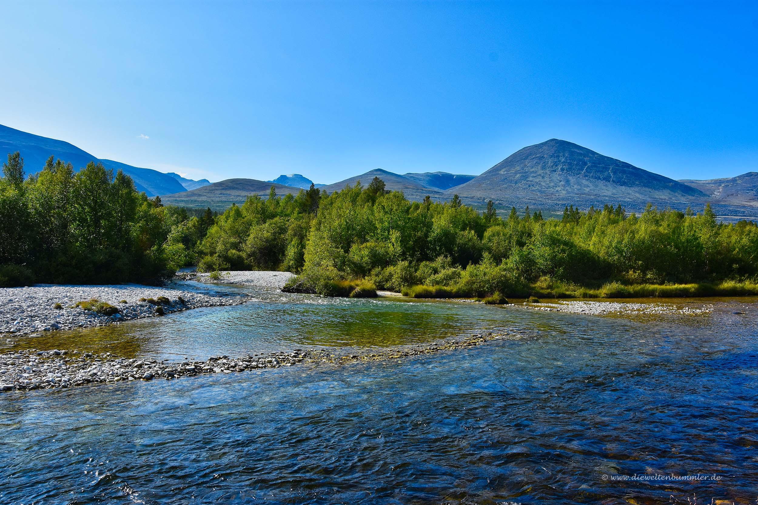 Der Fluss Atna