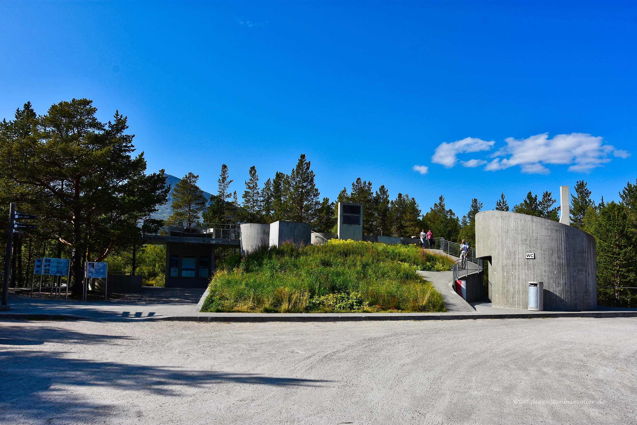 Ein weiterer Rastplatz am Rondane-Nationalpark