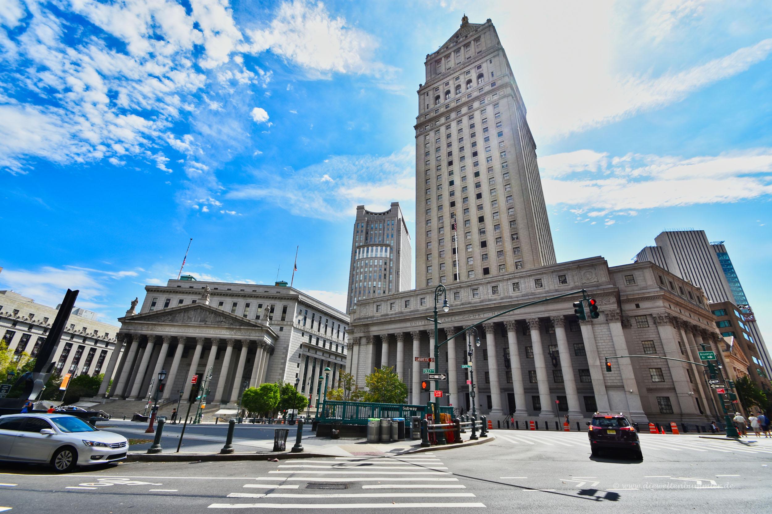 Gerichtsgebäude in New York