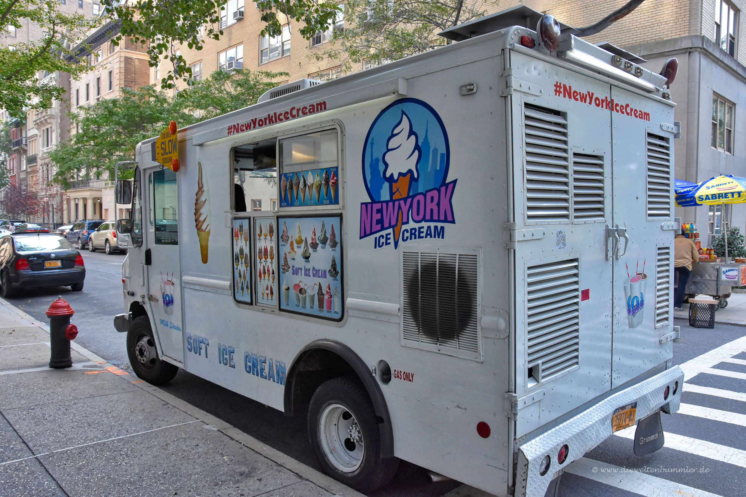 Eiswagen in Manhattan