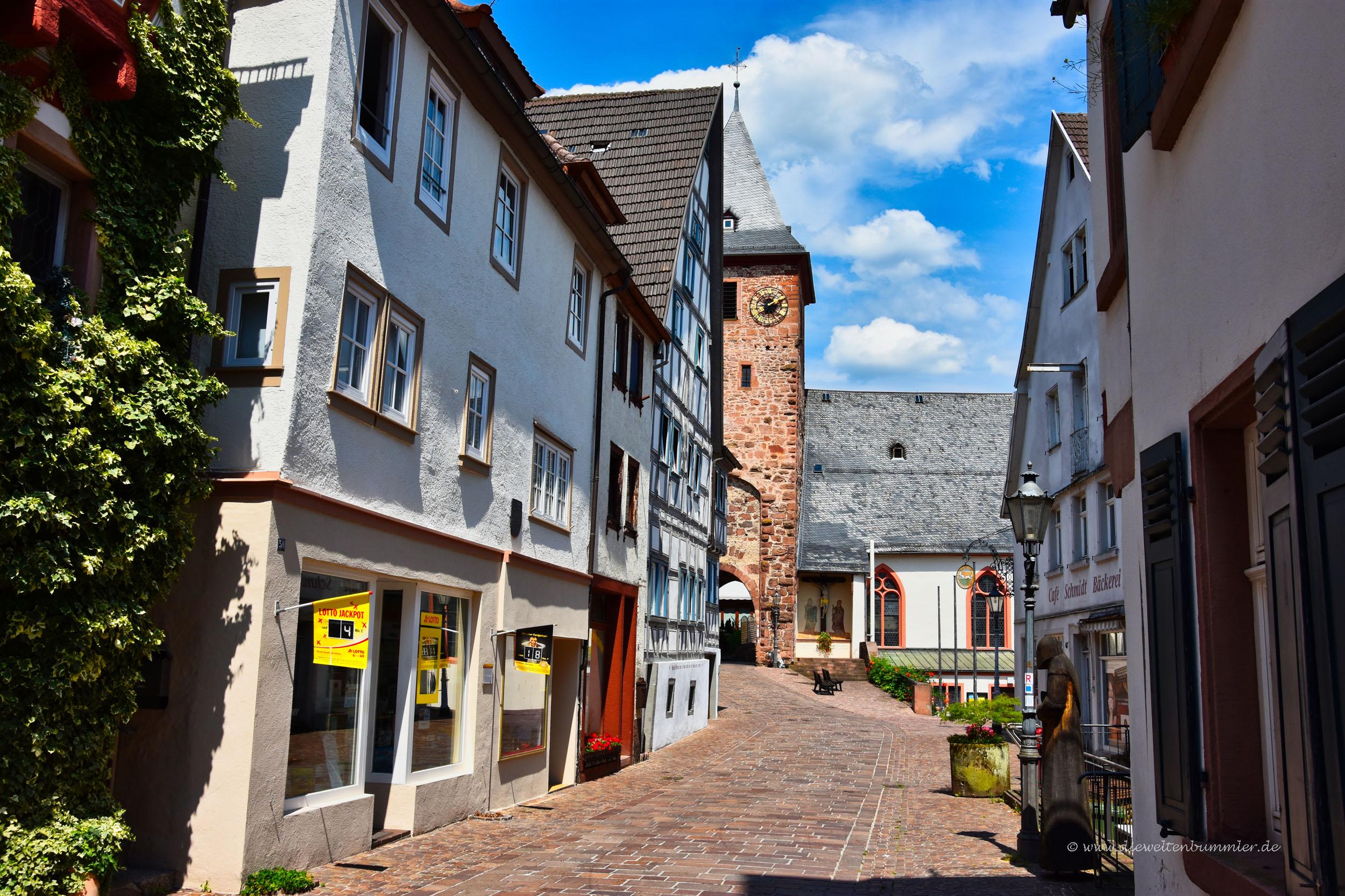 Gasse in Hirschhorn