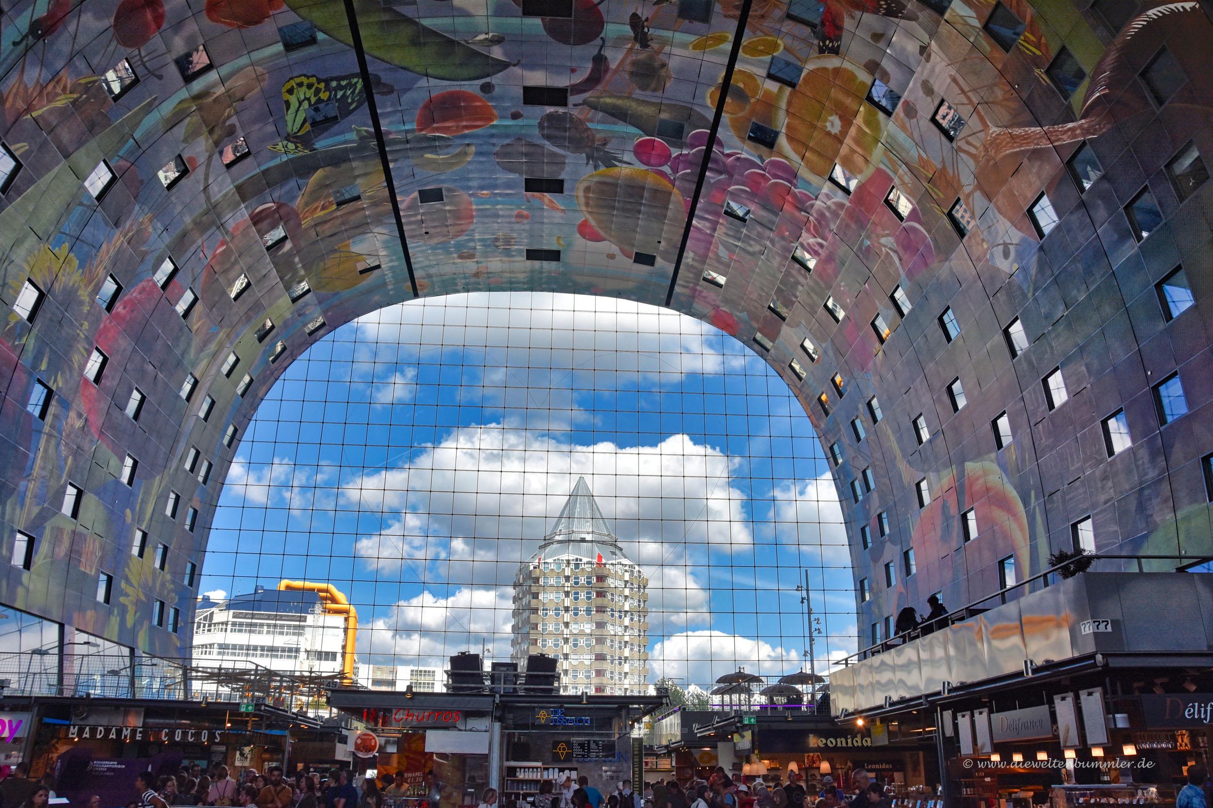 Ausblick aus der Markthalle