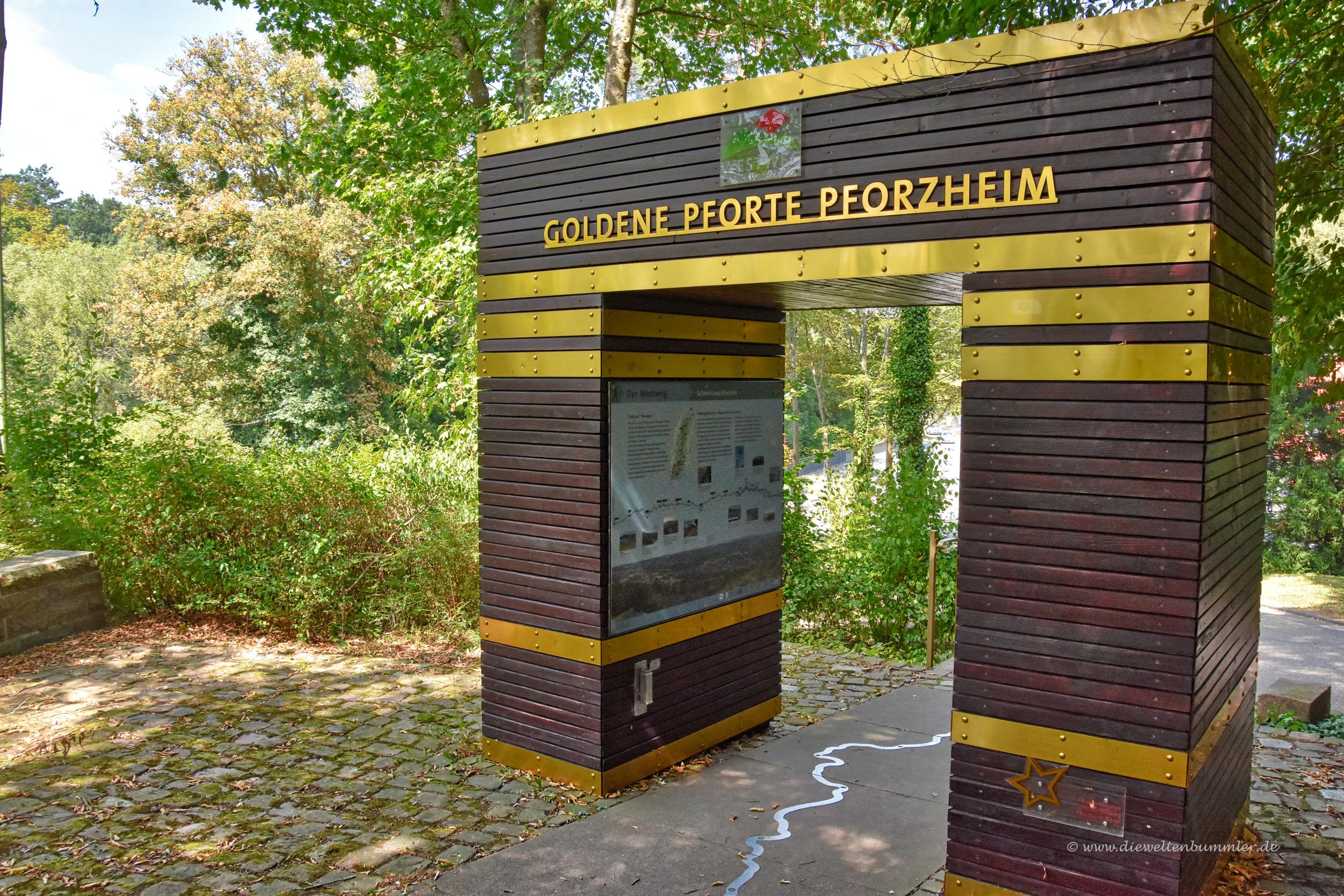 Goldene Pforte in Pforzheim