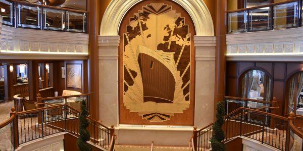 Treppe an der Lobby