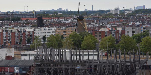 Rekonstruktion eines Schiffes