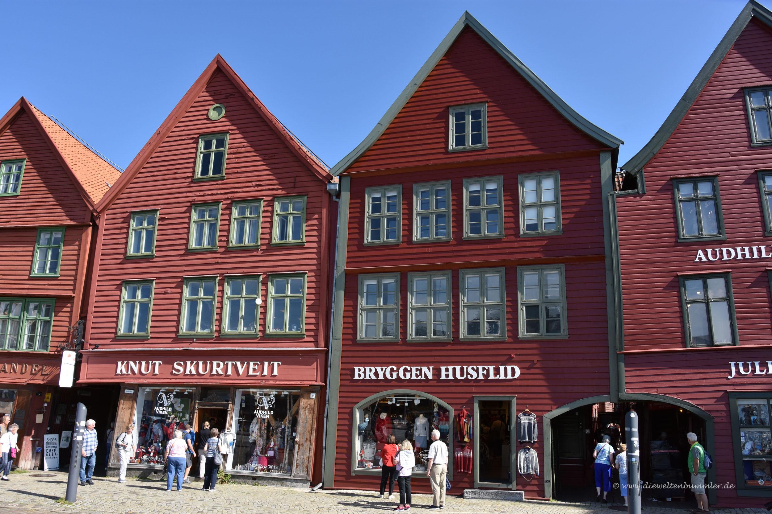 Altes Viertel Bryggen