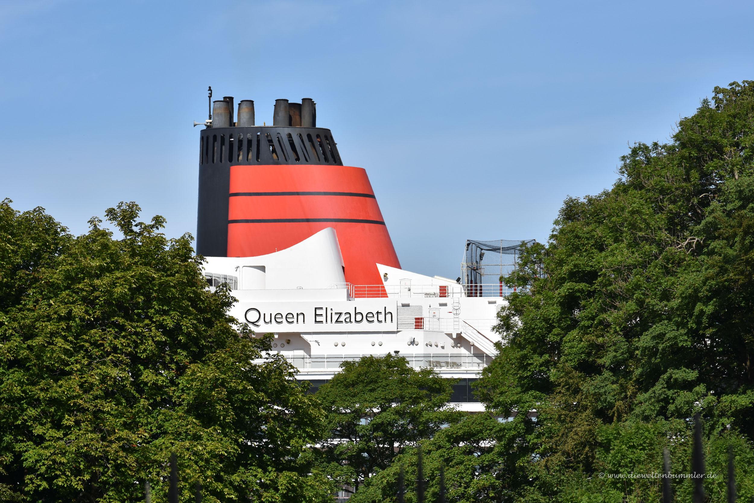 Schornstein der Queen Elizabeth