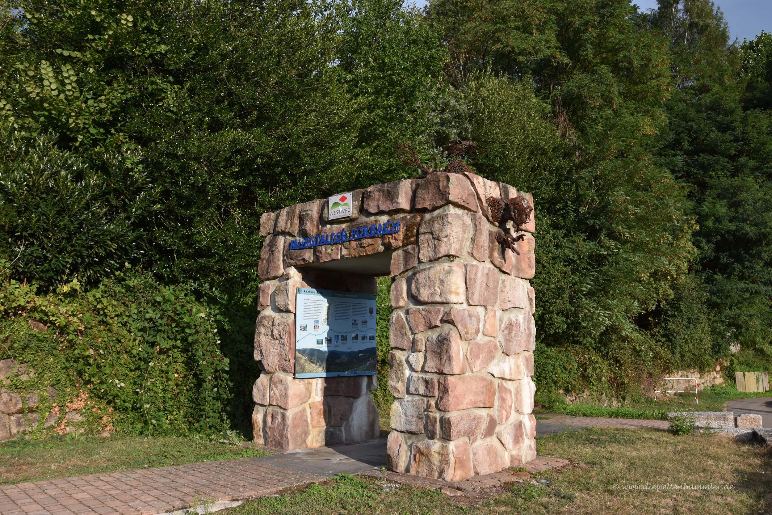 Murgtaltor in Forbach