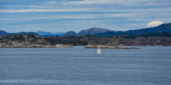 Unterwegs in den Fjorden