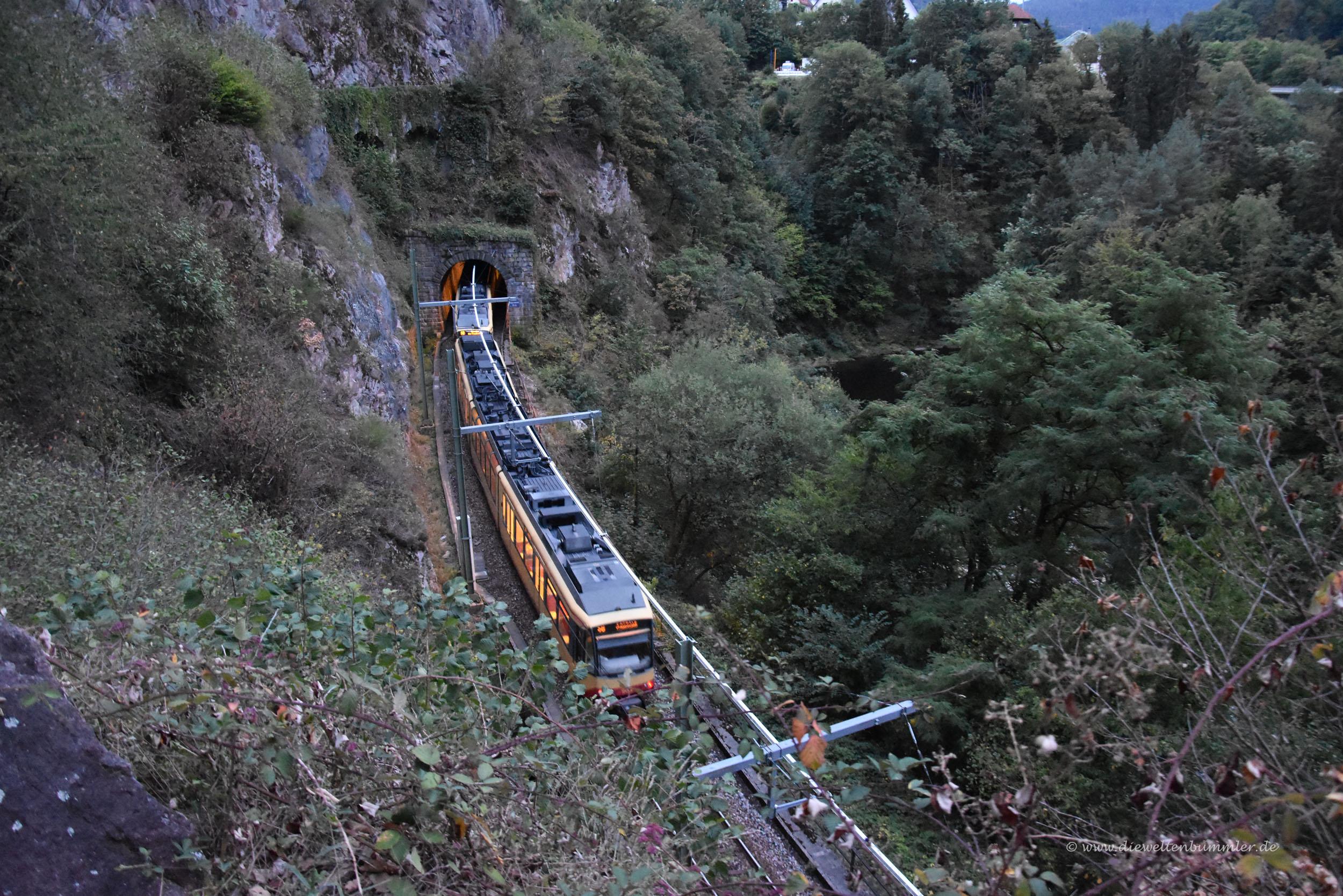 Bahn im Murgtal