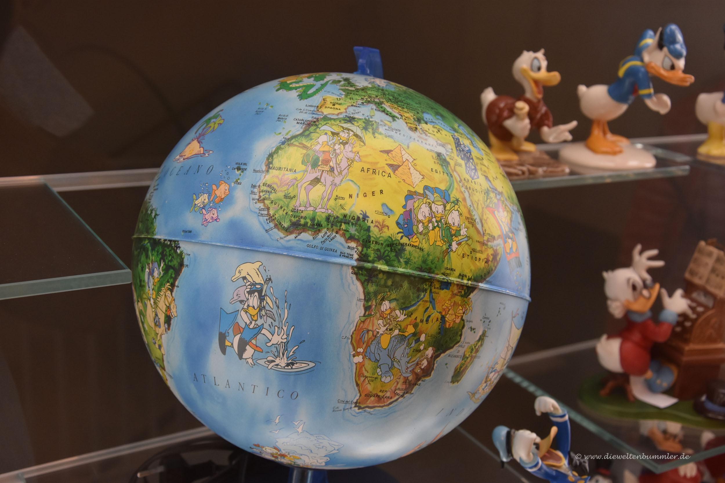 Als vielreisender liebe ich diesen Globus