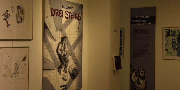 Ausstellung Drei Steine