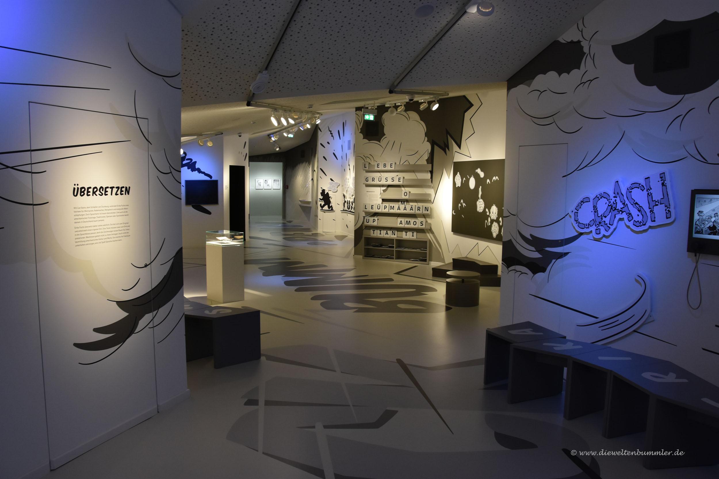 Ausstellung im Erika Fuchs-Haus