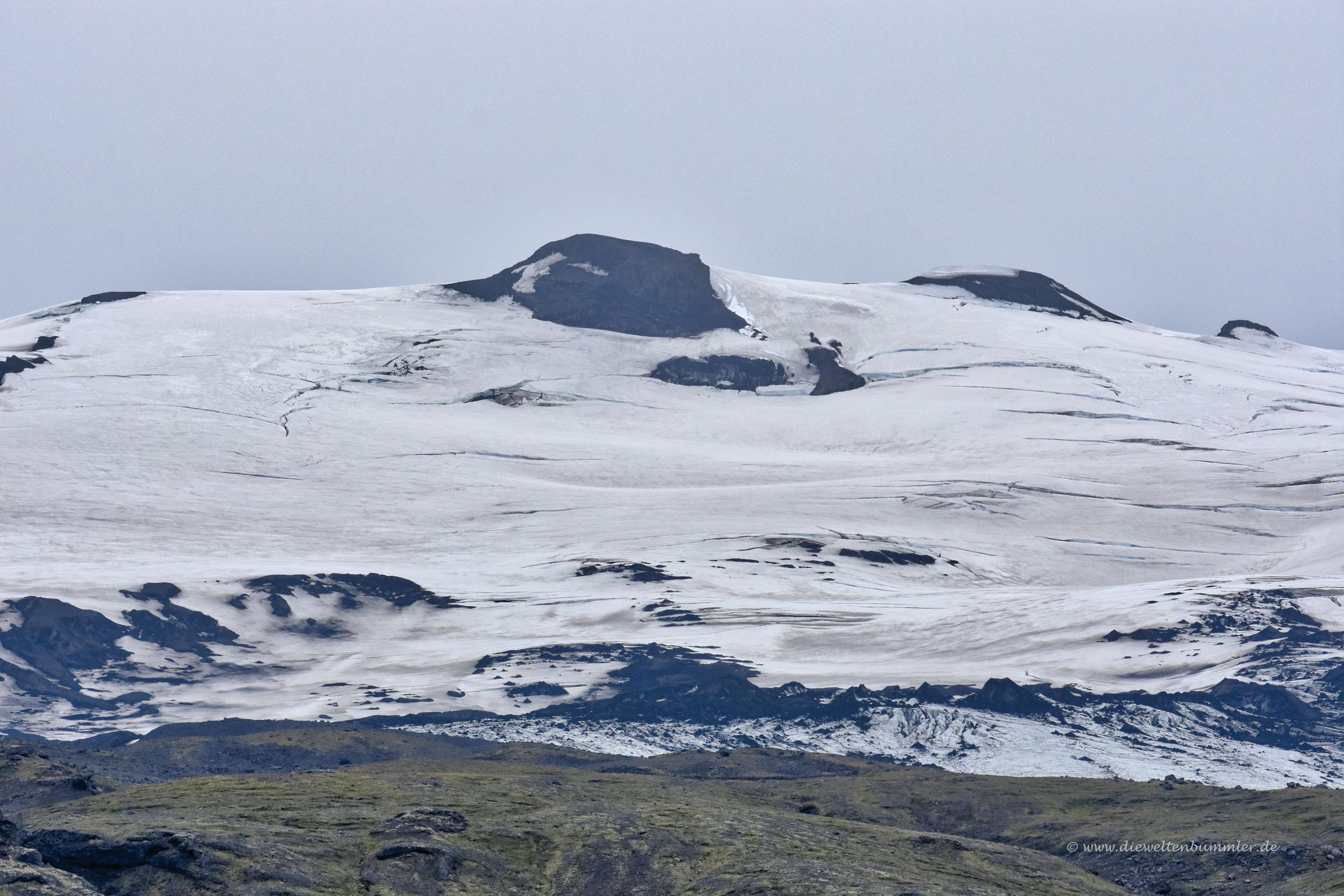 Gletscher auf dem Eyjafjalljökull