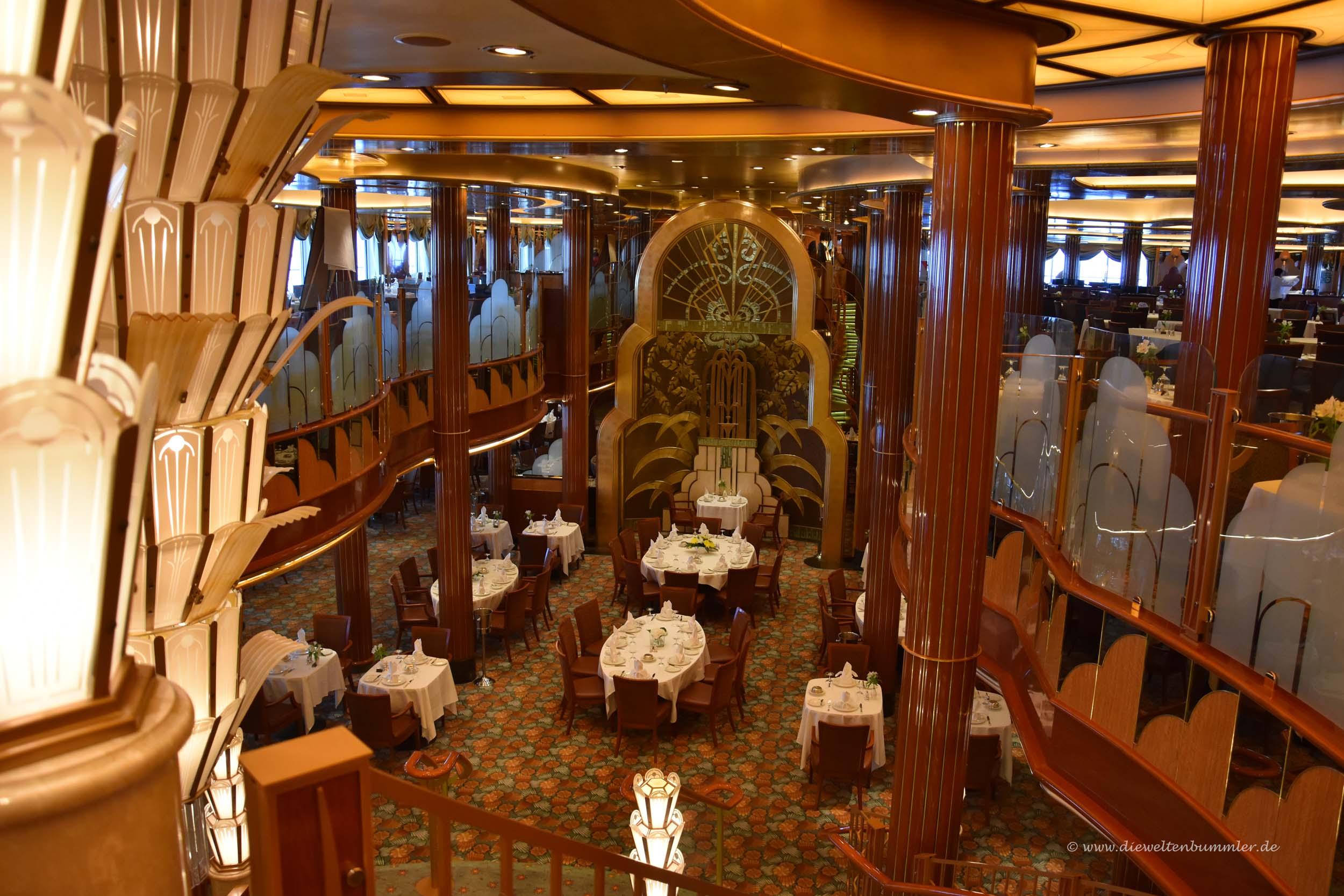 Britannia-Restaurant auf der Queen Elizabeth