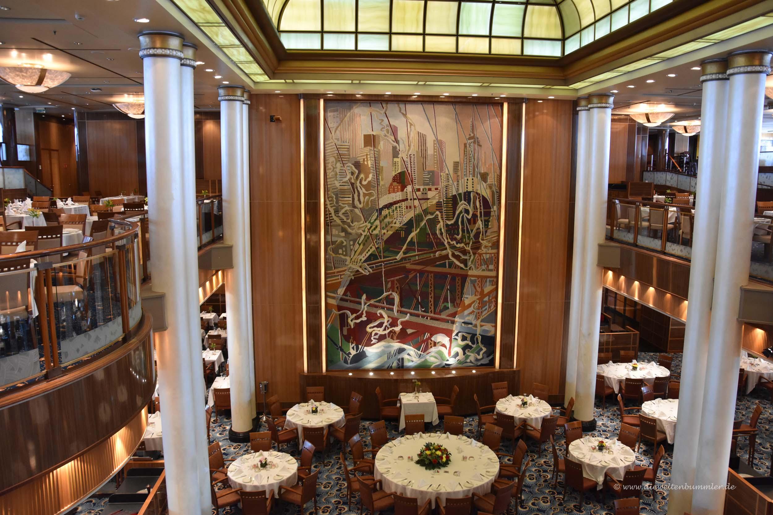 Britannia-Restaurant auf der Queen Mary 2