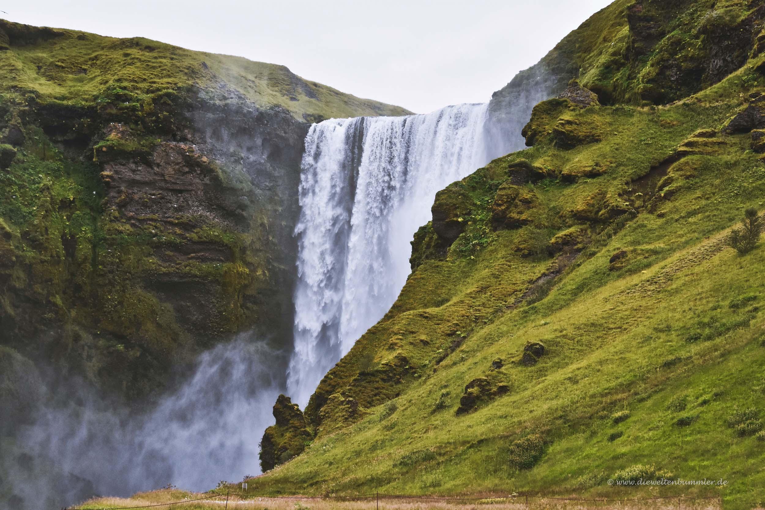 Der Godafoss auf Island