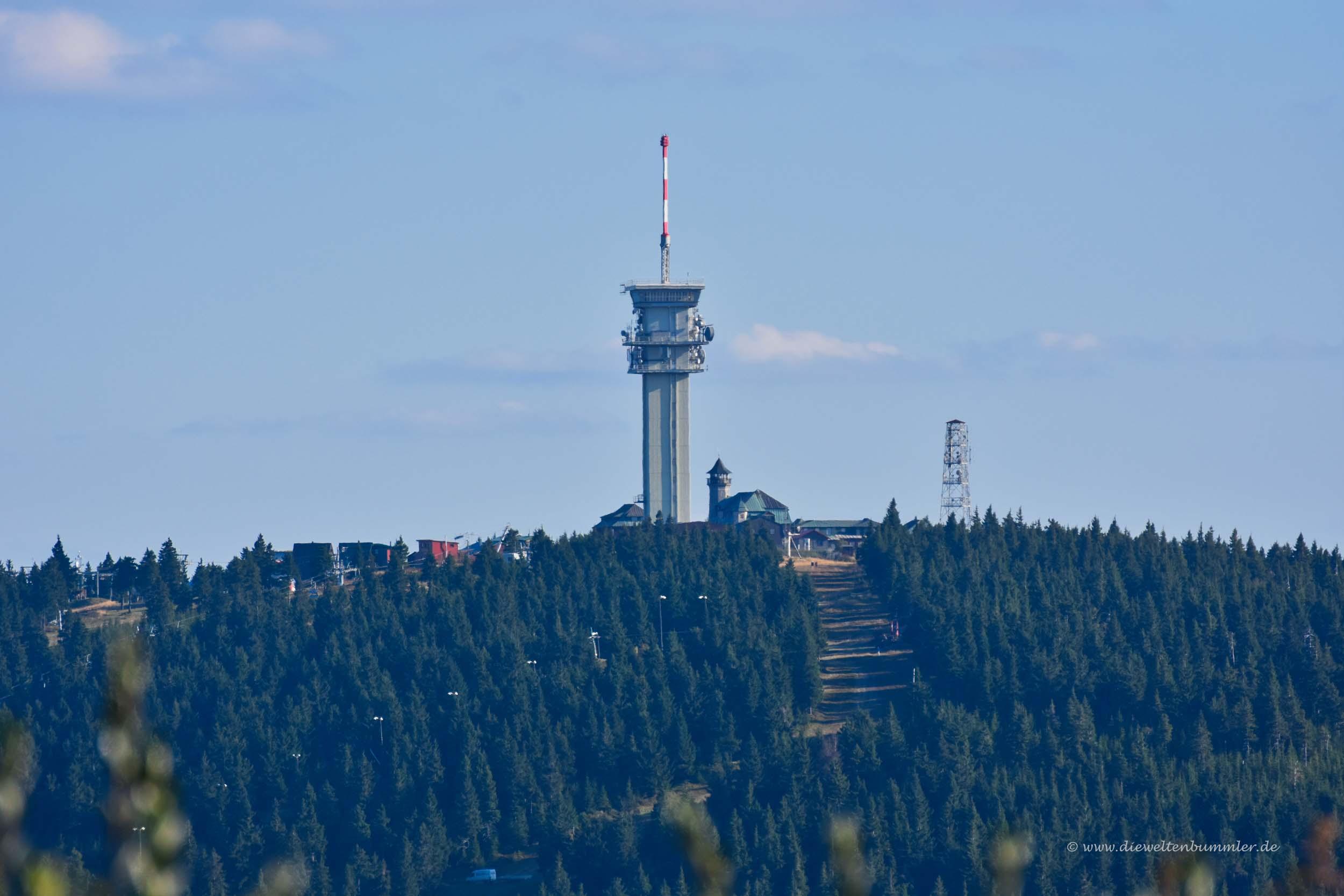 Der Klínovec in Tschechien
