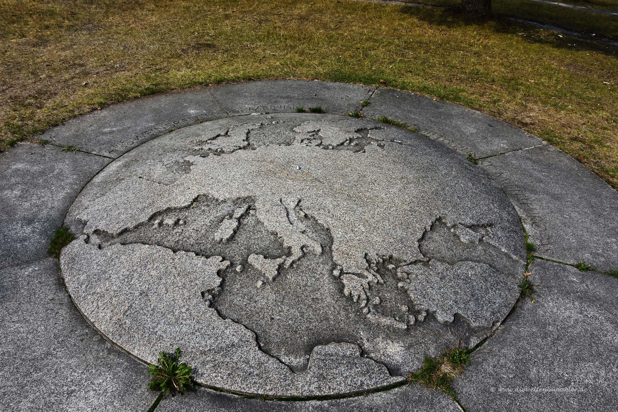 Der geografische Mittelpunkt von Mitteleuropa